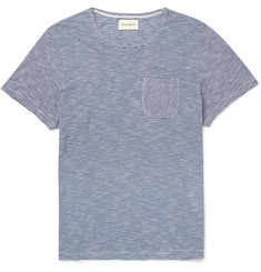 Oliver Spencer Walton Striped Cotton-Jersey T-Shirt
