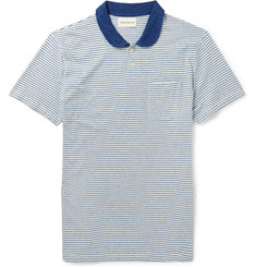 Oliver Spencer Japura Striped Cotton Polo Shirt