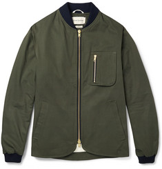 Oliver Spencer Lambeth Cotton Bomber Jacket