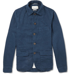 Oliver Spencer Linen and Cotton-Blend Jacket