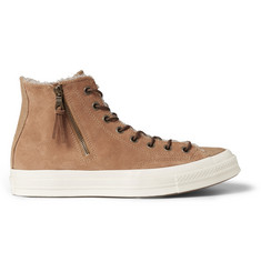 Converse First String Missoni Suede High Top Sneakers