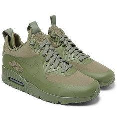 Nike TZ Air Max 90 Canvas and Leather Sneakerboots