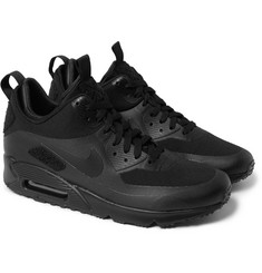 Nike TZ Air Max 90 Patch Canvas and Leather Sneakerboots