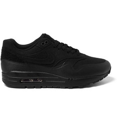 Nike TZ Air Max 1 Patch Canvas And Leather Sneakers