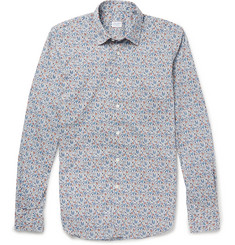 Incotex Slim-Fit Printed Cotton Shirt