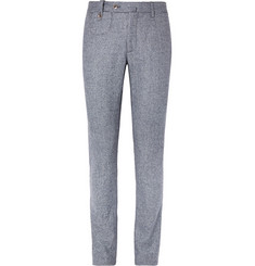 Incotex Slim-Fit Wool-Tweed Trousers