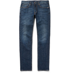Incotex Slim-Fit Washed-Denim Jeans