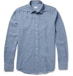 Incotex Kurt Slim-Fit Puppytooth Cotton Shirt