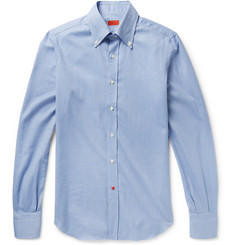 Isaia Cotton-Flannel Shirt