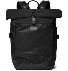 Paul Smith Shoes & Accessories 531 Mesh-Trimmed Shell Backpack