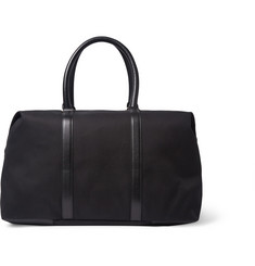Paul Smith Shoes & Accessories Leather-Panelled Canvas Holdall