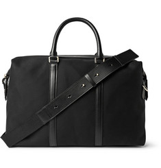 Paul Smith Shoes & Accessories Leather-Trimmed Canvas Holdall
