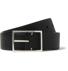 Paul Smith Shoes & Accessories Brown 3.5cm Textured-Leather Belt