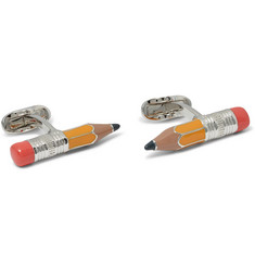 Paul Smith Shoes & Accessories - Pencil Enamelled Brass Cufflinks