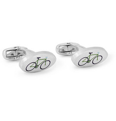 Paul Smith Shoes & Accessories London Bikes Metal Cufflinks