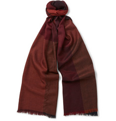 Paul Smith Shoes & Accessories Wool and Silk-Blend Scarf