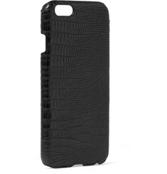 Paul Smith Shoes & Accessories Crocodile-Embossed Leather iPhone 6 Case