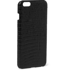 Paul Smith Shoes & Accessories Alligator-Effect Leather iPhone 6 Plus Case