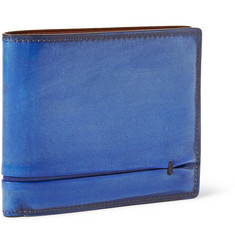 Berluti Amarello Leather Billfold Wallet