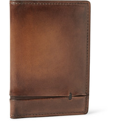 Berluti Burnished Leather Wallet