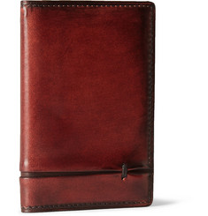 Berluti Burnished-Leather Wallet