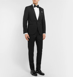 Hackett Satin-Trimmed Wool and Mohair-Blend Tuxedo
