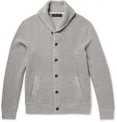 Rag & bone Beckett Waffle-Knit Cotton Cardigan