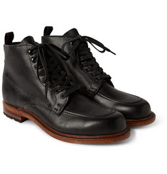 Rag & bone Rowan Leather Lace-Up Boots