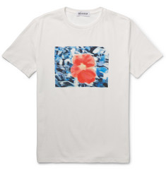 Beams T Printed Cotton-Jersey T-Shirt