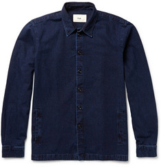 Folk Denim Shirt Jacket
