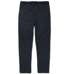 Folk Slim-Fit Cotton-Twill Trousers