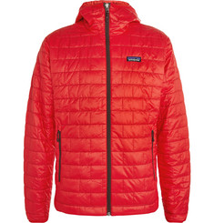 Patagonia Nano Puff Hooded Quilted Shell Jacket