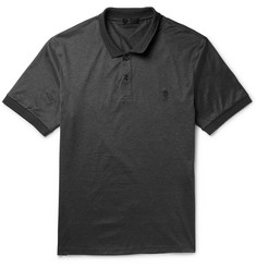 Alexander McQueen Cotton-Jersey Polo Shirt