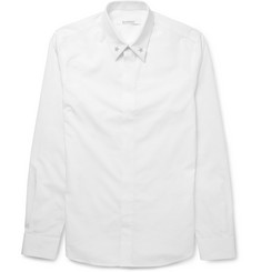 Givenchy - Cuban-Fit Star-Embellished Cotton Shirt