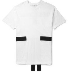 Givenchy Columbian-Fit Panelled Cotton-Jersey T-Shirt
