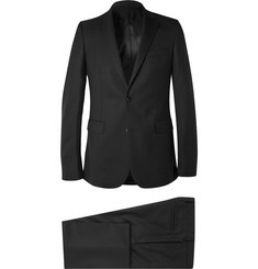 Givenchy - Black Slim-Fit Stretch-Wool Suit