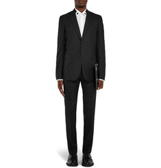 Givenchy Black Slim-Fit Stretch-Wool Suit
