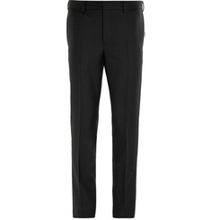 Givenchy Black Slim-Fit Wool Trousers