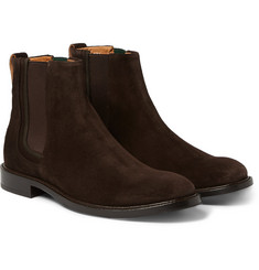 Paul Smith Shoes & Accessories - Edmund Burnished-Suede Chelsea Boots