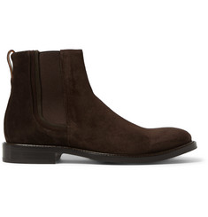 Paul Smith Shoes & Accessories Edmund Burnished-Suede Chelsea Boots