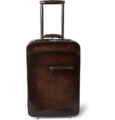 Berluti Formula 1000 Venezia Leather Cabin Trolley