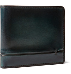 Berluti Amarello Burnished Leather Billfold Wallet