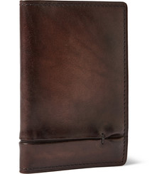 Berluti Jagua Gaspard Burnished-Leather Cardholder
