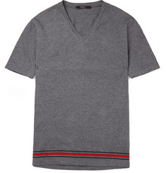 Gucci Slim-Fit Striped Cotton-Jersey T-Shirt