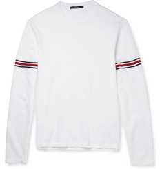 Gucci Striped Cotton-Jersey T-Shirt