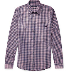 Gucci Slim-Fit Checked Cotton Shirt