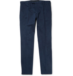 Gucci Brushed-Cotton Trousers