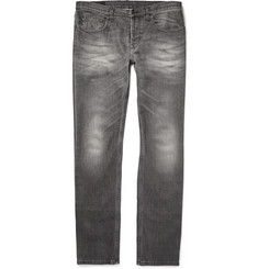 Gucci Slim-Fit Stone-Washed Denim Jeans
