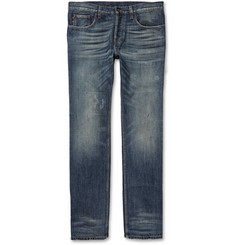 Gucci Slim-Fit Washed Denim Jeans
