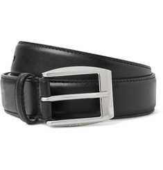 Gucci - 3cm Black Leather Belt